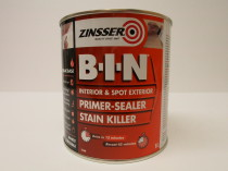 Bakers diy zinsser paint for Exterior wood water based primer